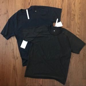 NWT 2 Lululemon SS metal vent Tech T Shirts XL